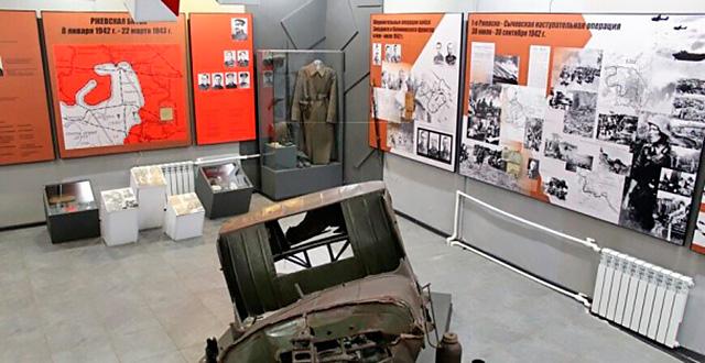 Экспозиция в Краеведческом музее «Ржевская битва 1942 – 1943 гг.»