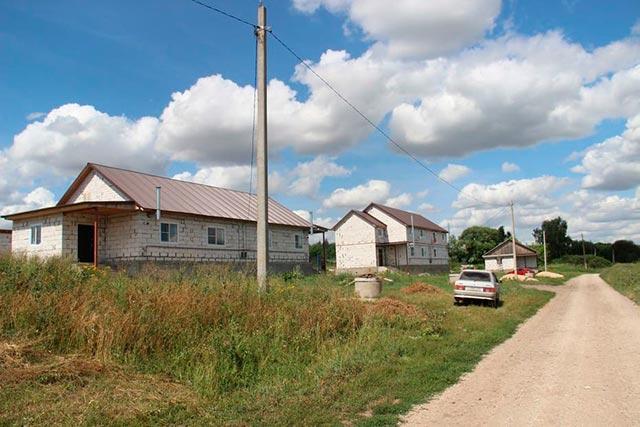 Новые дома в «Малинках»
