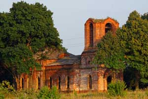 Покровский храм села Старое Киркино. 7 августа 2013 года