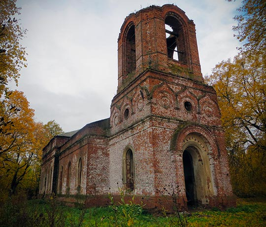 Покровская церковь села Старое Киркино, 14 октября 2017 г.