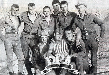 Во время службы в ДРА. Фото из семейного архива Шубенкиных.