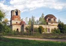 Богоявленская церковь села Чурики. 2007