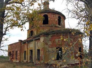 Церковь Сергия Радонежского с.Половнево Михайловского района Рязанской обл. 4 октября 2010