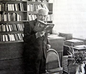 К.И. Марков в районной библиотеке