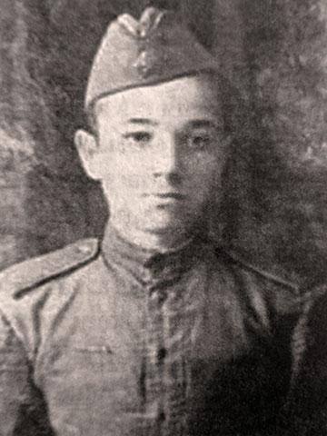 Фронтовик К.И. Марков