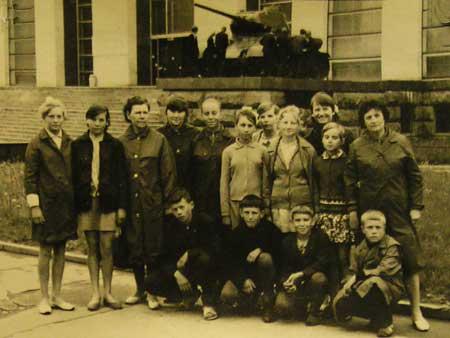 Экскурсия в Ульяновск, 1970 год