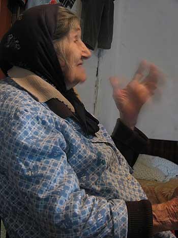 Рассказывает Мария Алексеевна. Август 2009г