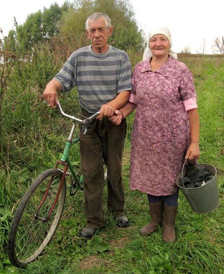 Петрухин Виктор Владимирович и Гаврилина Полина Васильевна, 2009 г