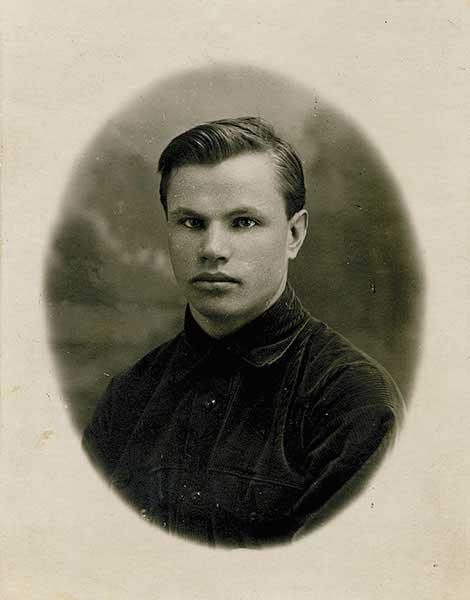 Алексей Федорович Журавлев, мой дед. 1925 год