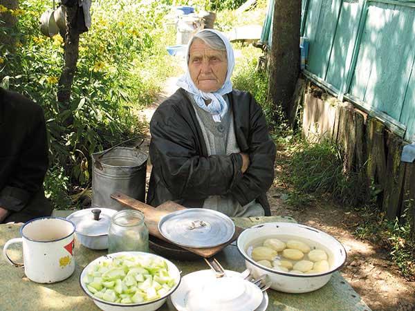 Жительница села Старое Киркино Сивцева Лидия Васильевна