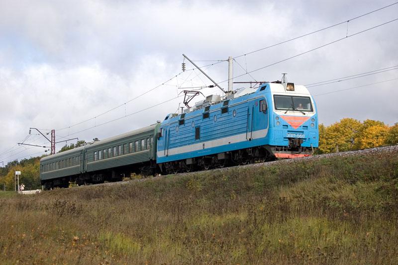 Пригородный поезд Узуново-Павелец, 25 сентября 2011 года. Фото с сайта http://wilsoon.livejournal.com/16010.html