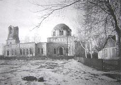 Богоявленский храм села Чурики