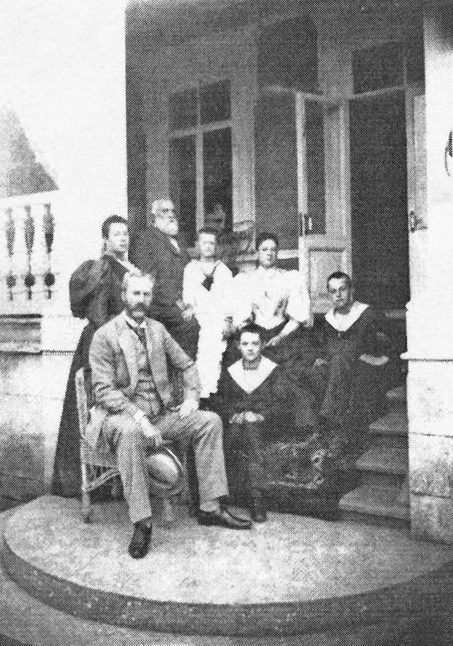 В имении князей Гагариных Коровино 1896 г.
