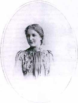 Любовь Дмитриевна Воейкова (в замужестве Воронец, затем Духовская). 1871-1947. Фото 1890-х гг.