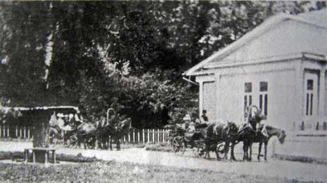 Приезд в Ольховец. Фото 1897 г.