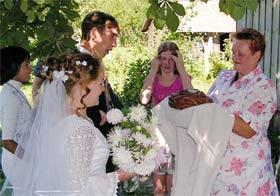 Свадьба в Грязном. 2005 год. Фото Валерия Евдокимова