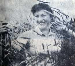 Агроном совхоза «Возрождение» О.Н.Фомашина. Фото В. Бакунина.
