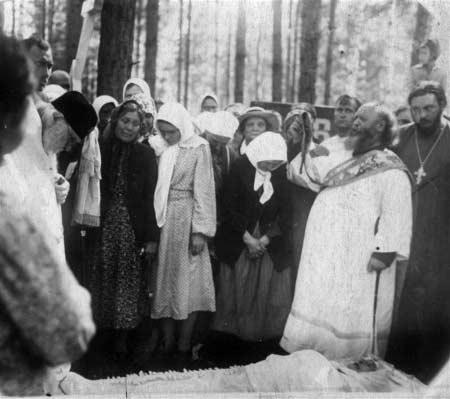 Похороны Марии Дмитриевны Городцевой – 1953 год