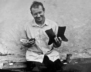 Василий Иванович Гранков, фото Константина Маркова, 1992 год