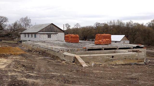 Село Малинки, апрель 2020. Фото с сайта Михайлов-ТВ