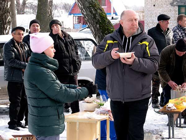 Масленица в Ильиче, 13 марта 2016