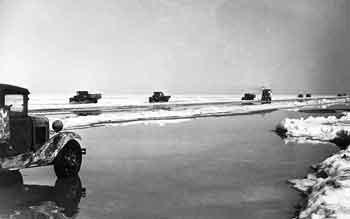Ладожское озеро. Дорога жизни. Весна 1942 г.