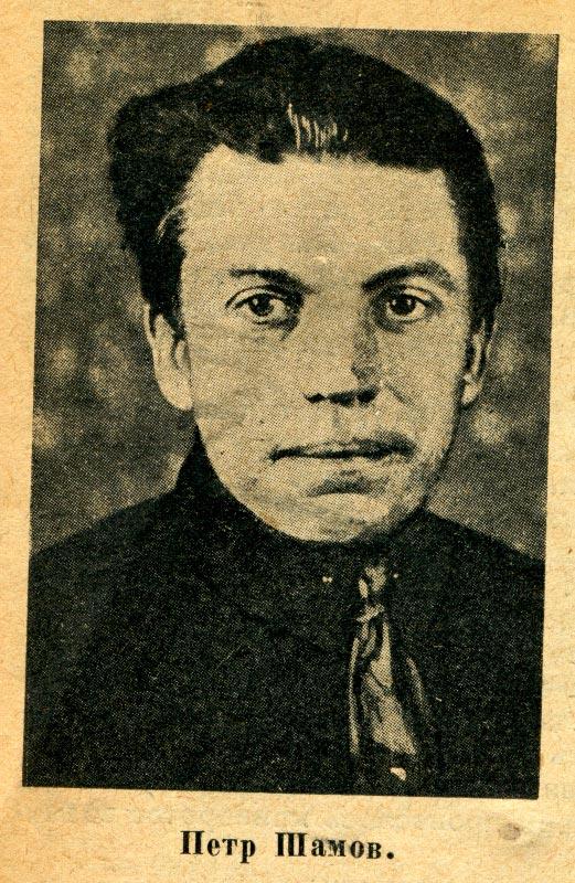 Поэт Петр Михайлович Шамов