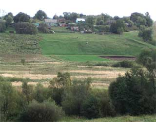 Окраина села Покровское I 08.09.2004
