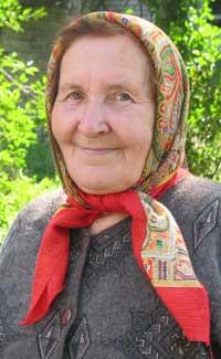 Родина Клавдия Александровна, заведующая Чапаевской сельской библиотекой, 2006 г.