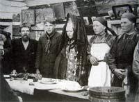 Деревенская свадьба 1920 г