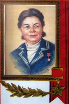 Ольга Ивановна Тишининова. Фото из книги «Земля Михайловская»