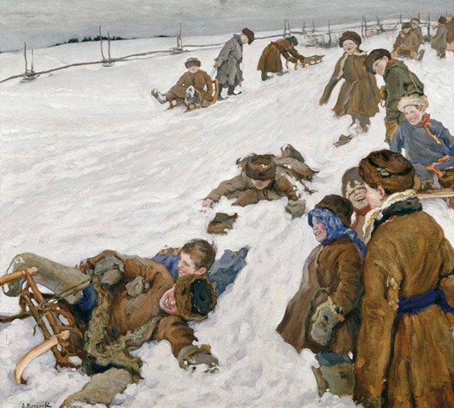 А. В. Моравов — «Зимний спорт» (1913)