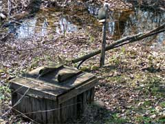 Колодец в селе Ст.Киркино 30 апреля 2005