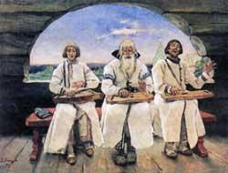 В.М. Васнецов. Гусляры 1899 г.
